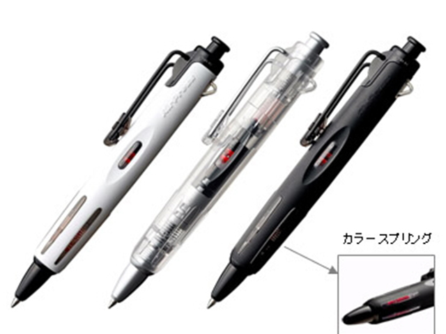 Clear Tombow Airpress 0.7mm Ball Point Pen